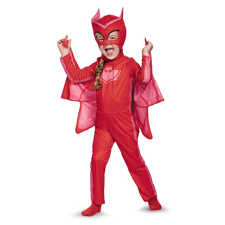 PJ Masks Owlette Classic Costume - Size 3-4T