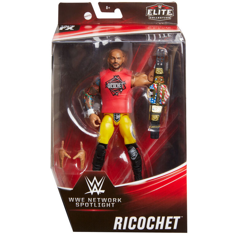 WWE MATTEL NETWORK SPOTLIGHT Ricochet ELITE Exclusive