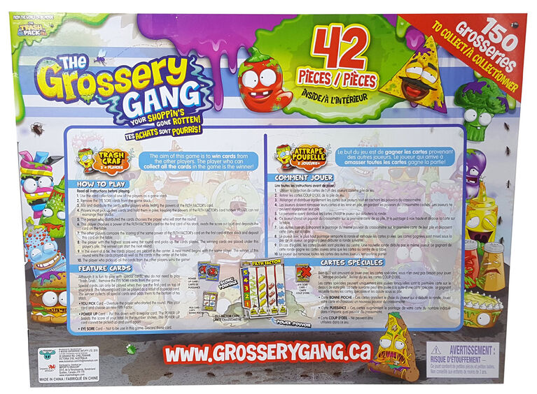 The Grossery Gang Super Gross Pack