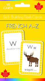 French A to Z Flash Cards - English Edition
