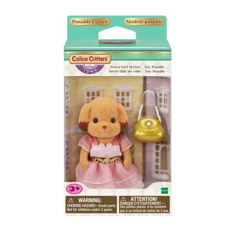 Calico Critters - Town Girl Series-Laura Toy Poodle