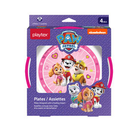 Playtex Paw Patrol Plates, 2-Pack - Pink