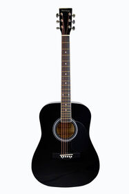 Bridgecraft Huntington Dreadnought Acoustic Guitar - Black