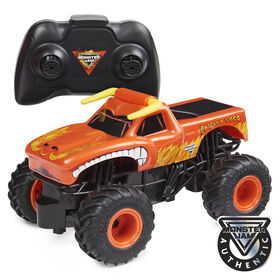 Monster Jam, Official El Toro Loco Remote Control Monster Truck, 1:24 Scale, 2.4 GHz