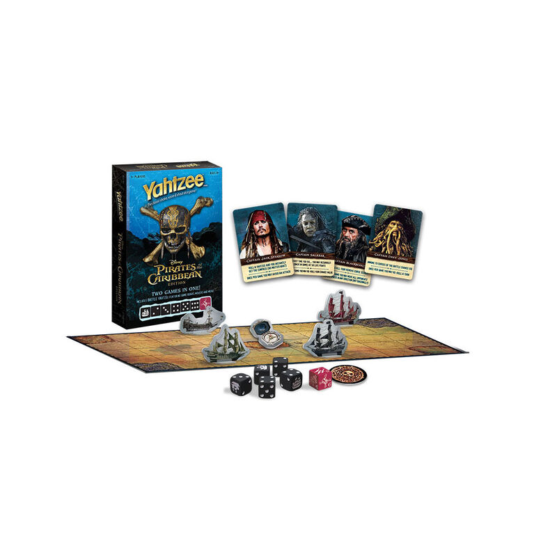 YAHTZEE: Pirates of the Caribbean Edition