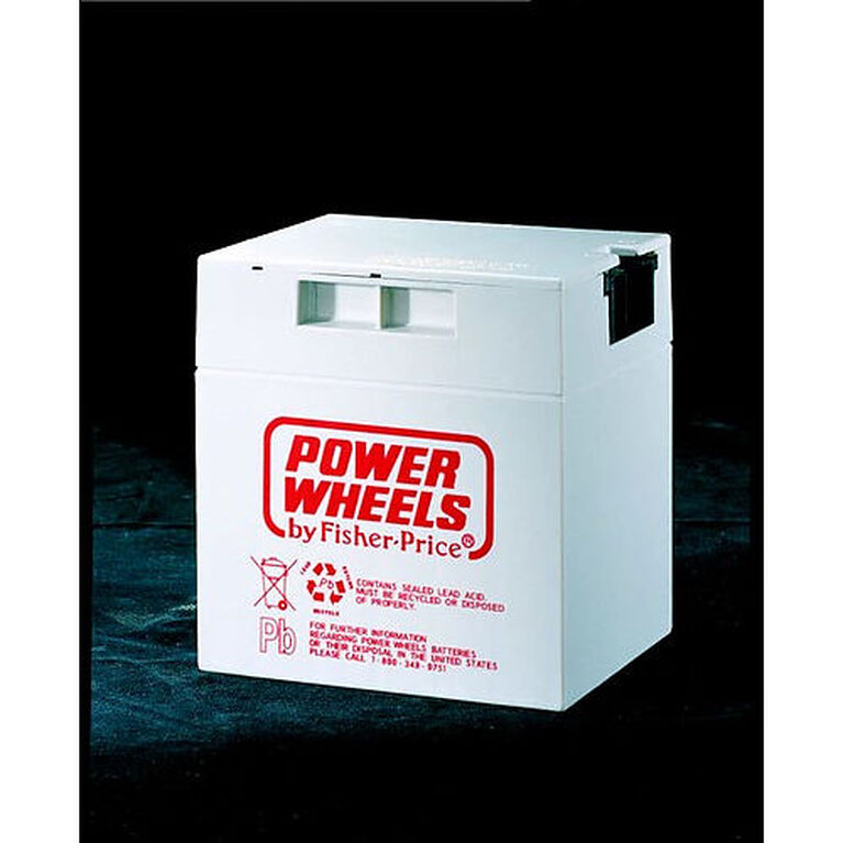 Batterie rechargeable de 12 volts Power Wheels Fisher-Price
