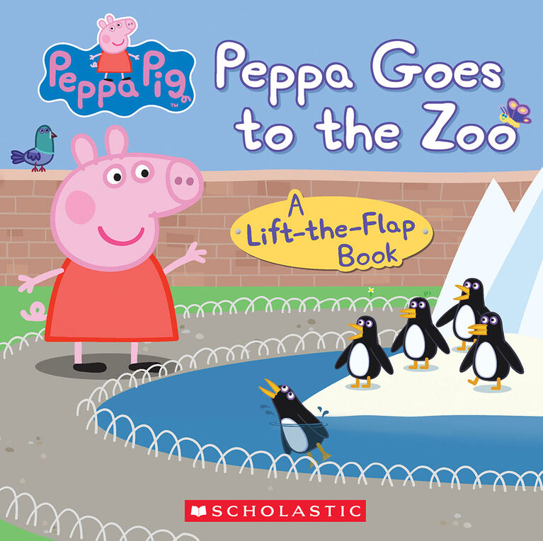 Scholastic - Peppa Pig: Peppa Goes to the Zoo - Édition anglaise