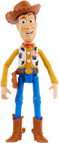 Disney Pixar Toy Story 4 True Talkers Woody Figure - French Edition