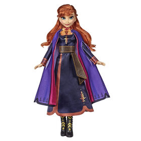 Disney Frozen Singing Anna Fashion Doll - English Edition  029656