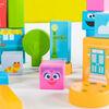 Set-the-Scene Sesame Street Wooden Storytelling Blocks