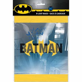 Batman Loot Bags, 8 pieces