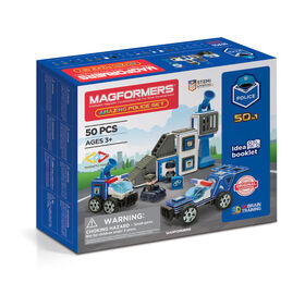 Magformers Amaz!ng Police 50 Piece Set