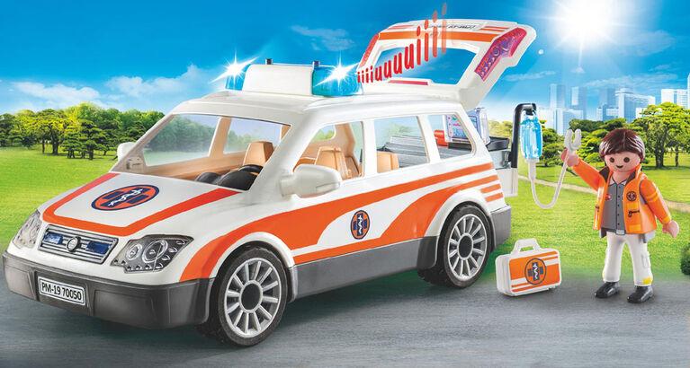 Voiture et ambulanciers - Playmobil