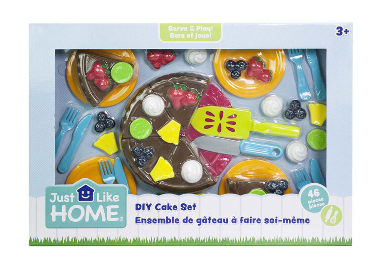 Just Like Home - DIY Cake Set