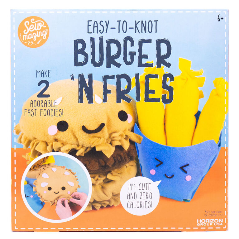 Sew-mazing Knot Your Own Burger 'N Fries