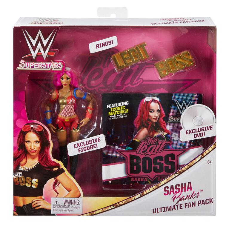 WWE Superstars Sasha Banks Ultimate Fan Pack