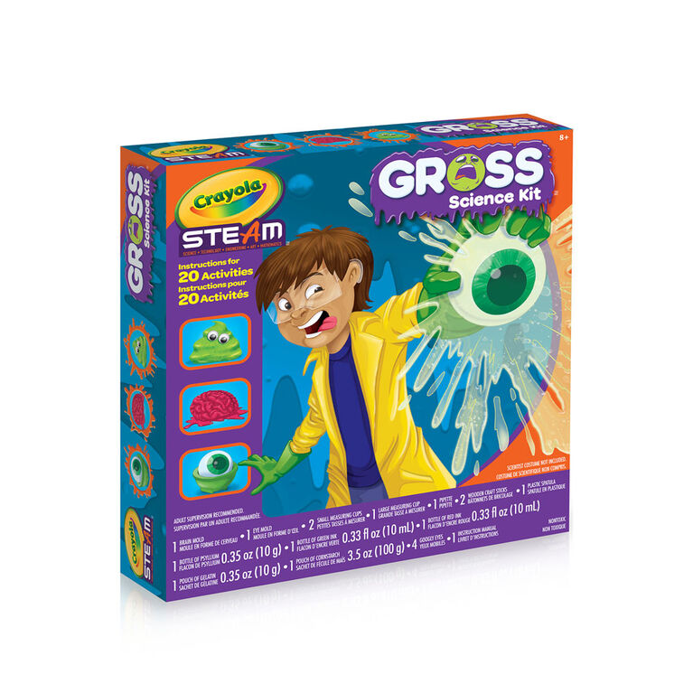 Trousse Gross Science Lab Kit de Crayola