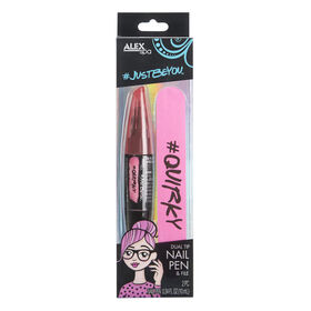 Just Be You Nail Pen & File