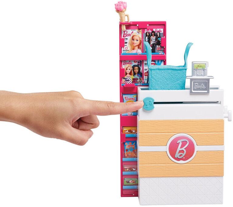 Barbie Supermarket Ensemble de jeu et Poupée