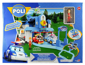 Robocar Poli - Transforming Headquarters Playset