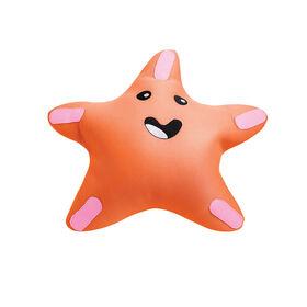 Flotteur à billes étoile de mer pour piscines - Orange