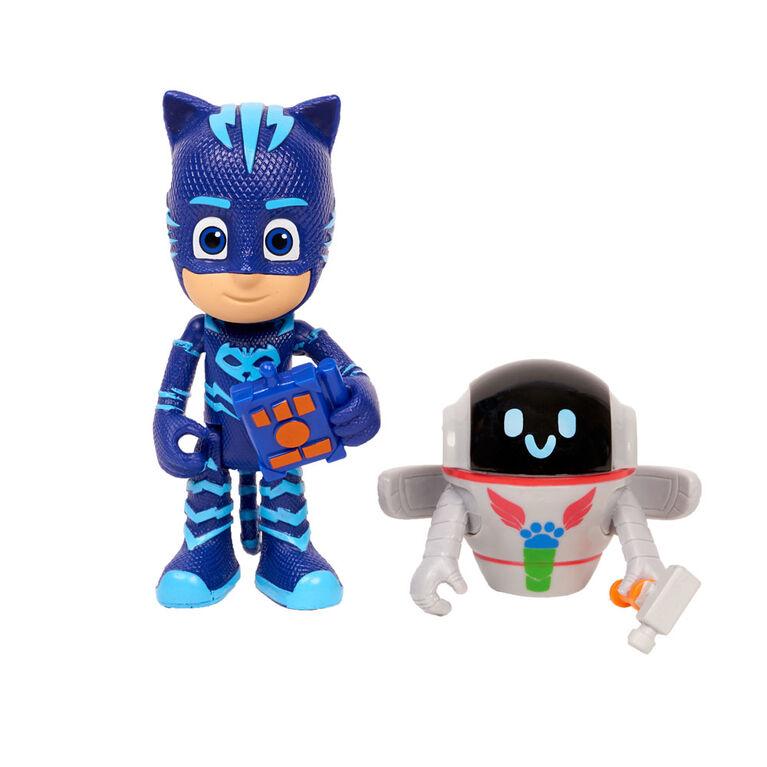 PJ Masks Hero vs. Villian 2-Pk Figure Set - Catboy & PJ Robot