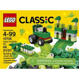 LEGO LEGO Classic La boîte créative verte 10708.