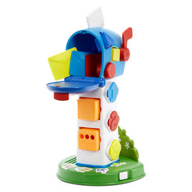 Little Tikes Learn and Play My First Mailbox, Pretend Mailbox Playset for Learning Shapes, Numbers, and Colors - for Ages 1 -3 Years