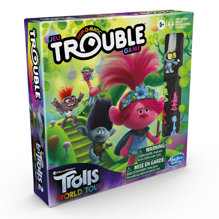 Trouble: DreamWorks Trolls World Tour Edition