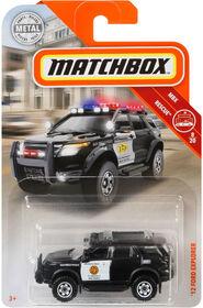 Matchbox - Ford Explorer 2012 - Les styles peuvent varier