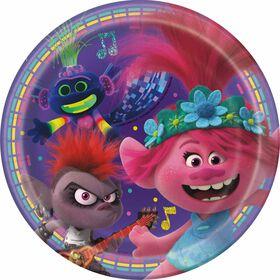 "Trolls  7""  Plates 8 pieces"