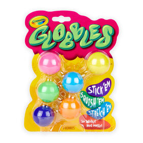 Crayola Globbles, 6 Count