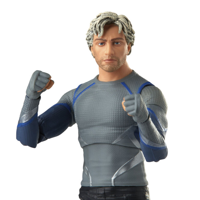 Hasbro Marvel Legends Series, figurine Quicksilver de 15 cm, personnage Infinity Saga