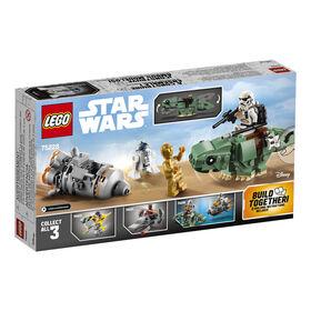 LEGO Star Wars Microvaisseaux: Module d'evacuation contre Dewback 75228
