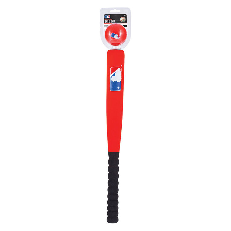 Franklin Sports MLB Red Mini Foam Bat & Ball