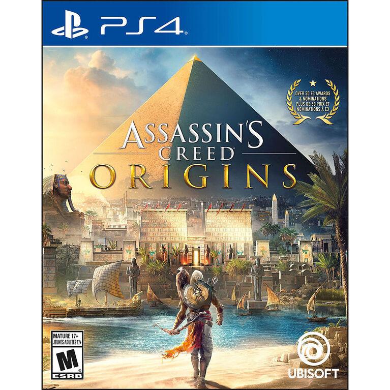 PlayStation 4 - Assassin's Creed Origins