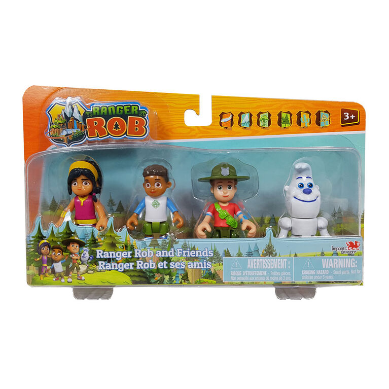 Ranger Rob and Friends 4 Pack