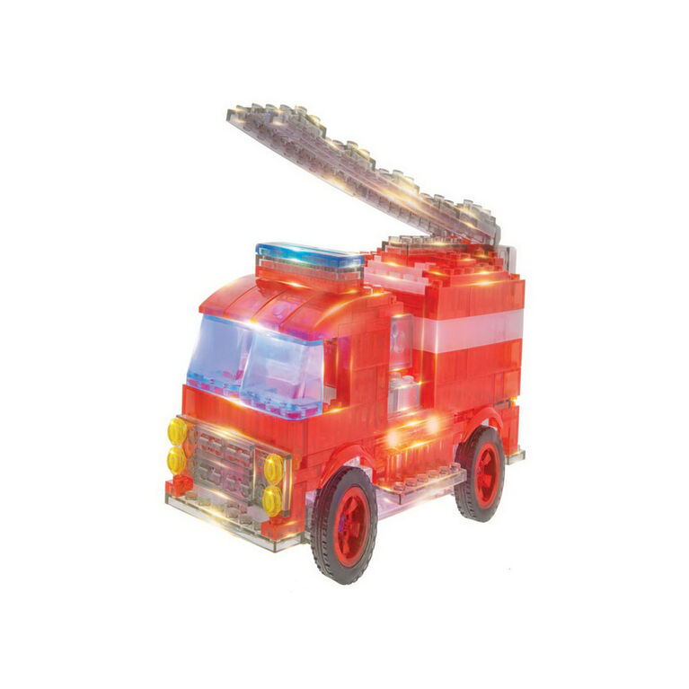 Laser Pegs Fire Truck 12-In-1Building Set