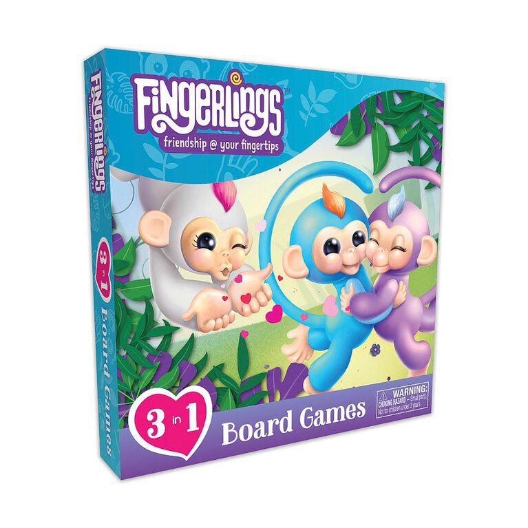 Fingerlings 3 in 1 Board game