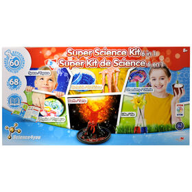 Science4you - Super kit de science 6 en 1