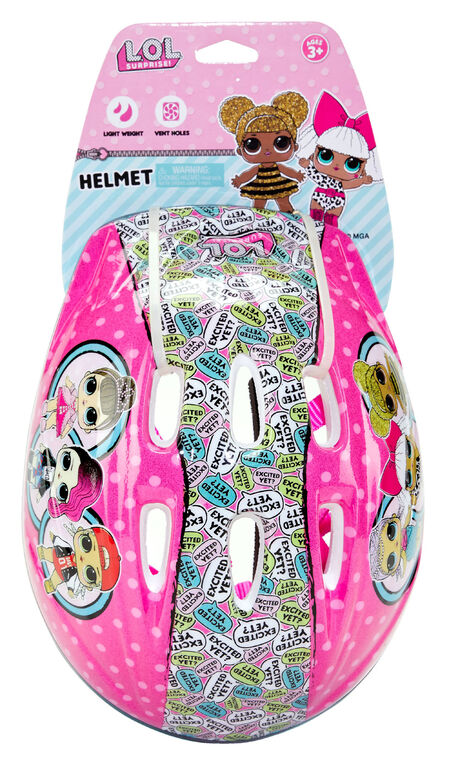 LOL Surprise! Bicycle Helmet - R Exclusive - English Edition