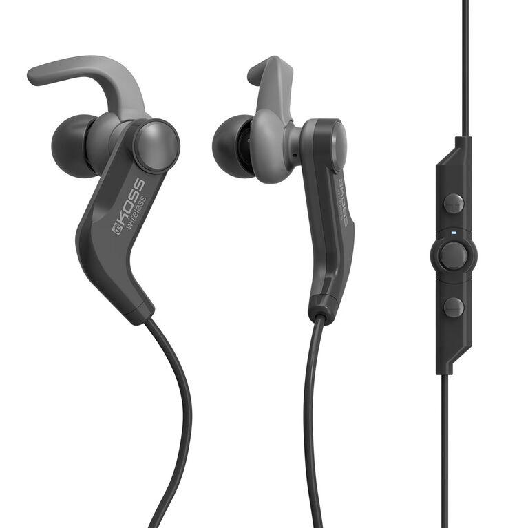 Koss Wireless Bluetooth Fitbud BT1901i avec micro et télécommande noir