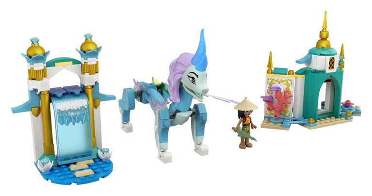 LEGO Disney Princess Raya et le dragon Sisu 43184