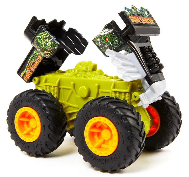 Hot Wheels Monster Trucks 1:43 Bash Ups  Splatter Time - Styles May Vary
