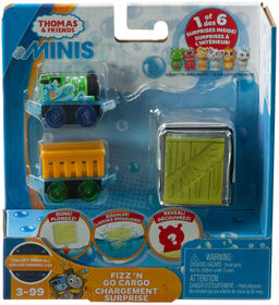 Fisher-Price Thomas & Friends MINIS, Fizz 'n Go Cargo - Percy & Alien - English Edition