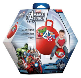 Ballon-Sauteur Avengers Boîte Hexagonale
