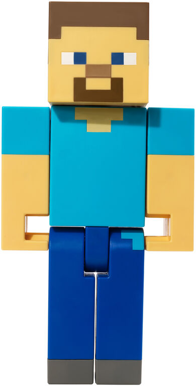 "Minecraft Steve Large Scale 8.5"" Action Figure"