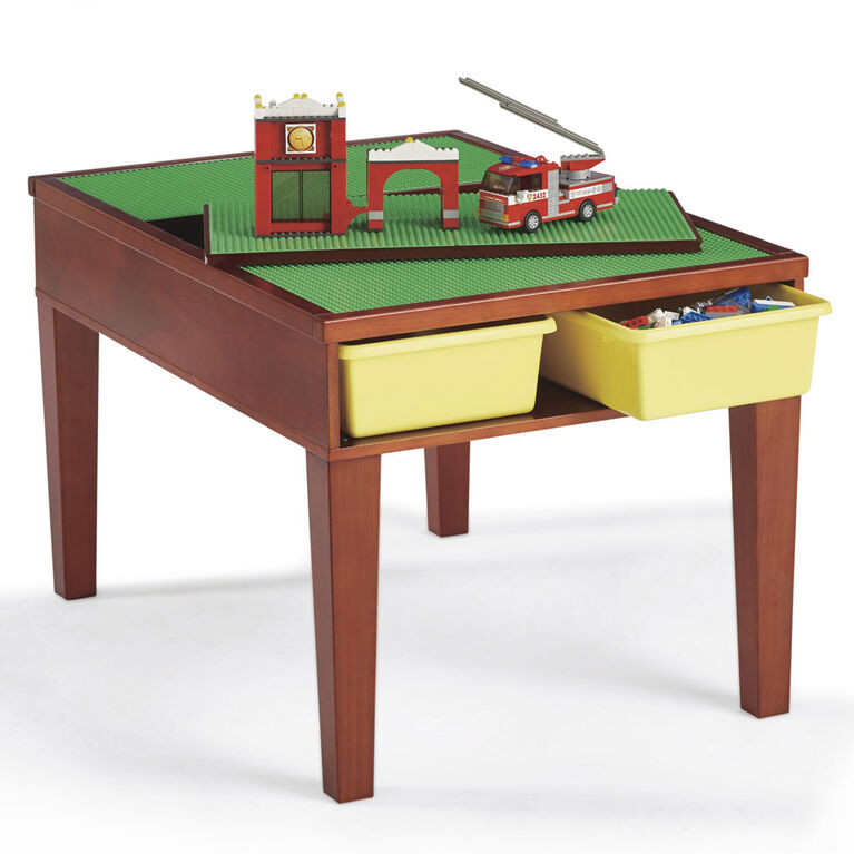 Imaginarium Construction Building Table - Espresso