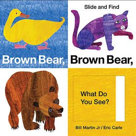 Brown Bear Brown Bear What Do You See Slide & Find - English Edition