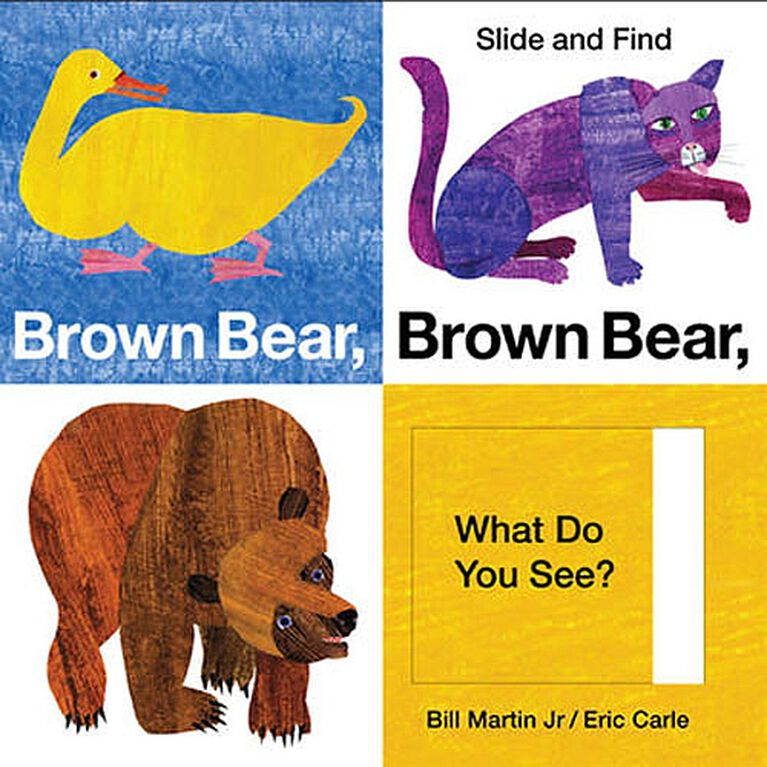 Brown Bear Brown Bear What Do You See Slide Amp Find